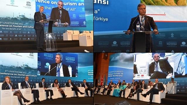 3. Dünya Turizm ve Kültür Konferansı İstanbul'da gerçekleşti