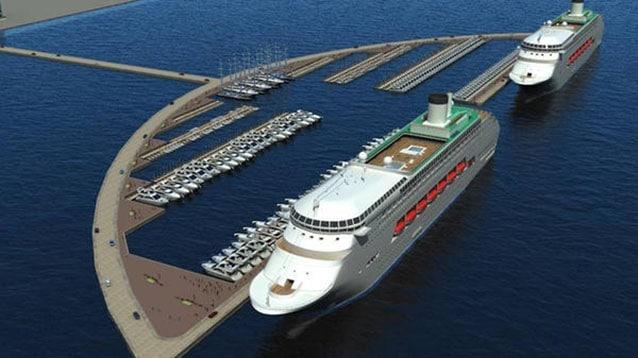 300 milyon dolarlık Antalya Kurvaziyer limanı projesine talip oldu