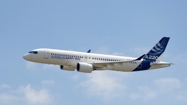 Airbus yeni uçaklarını tanıttı