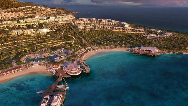 Akdeniz'deki en büyük otelini Bodrum'da açacak