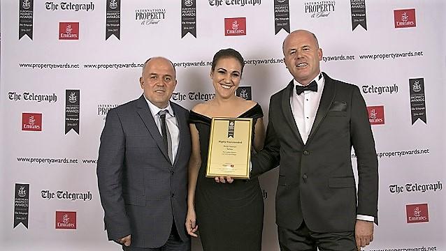 Alaçatı Port LaDera Hotel'in büyüleyici tasarımına Avrupa'dan ödül