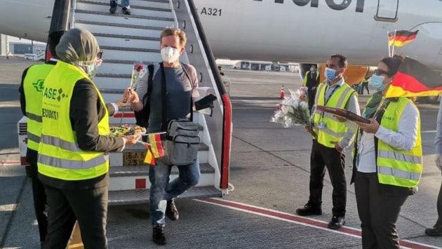 Alman turist hasretleri sona erdi