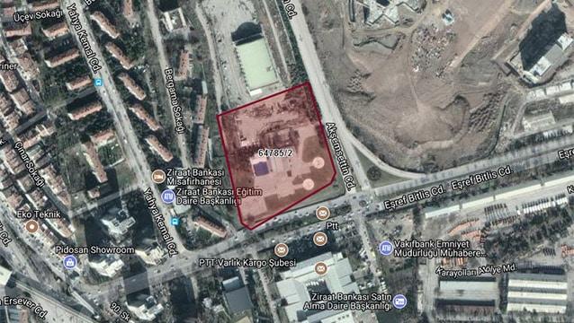 Ankara'da turizm ticaret arazisi yeniden satışta