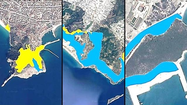 Antalya'nın turizm ilçelerindeki koruma alanları imara açıldı