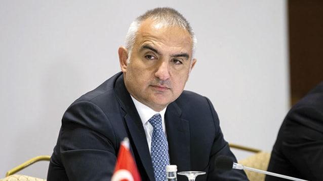 Bakan Ersoy'dan turizm haftası mesajı