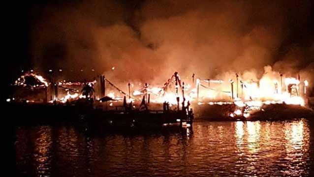 Cratos otel, yangının sebebini açıkladı