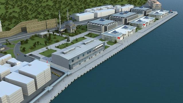 Dev otelin de yer alacağı Galataport'ta 216 milyon liralık anlaşma