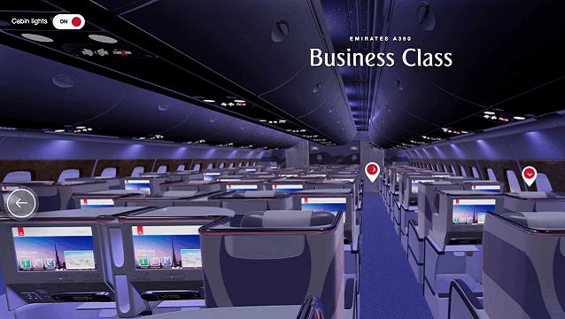 Emirates yolcularına sanal gerçeklik teknolojisi sundu