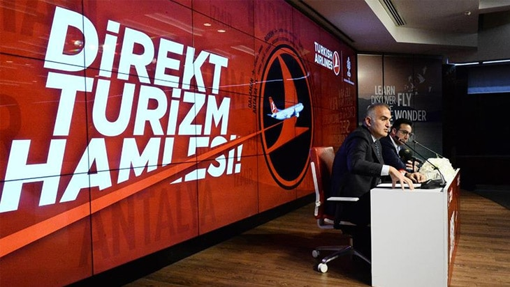Tanıtımın merkezine THY geliyor, Turkey sloganı değişiyor!