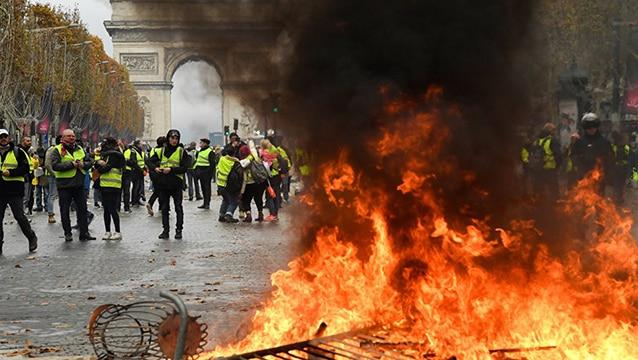 Eylemler Fransa turizmini vurdu