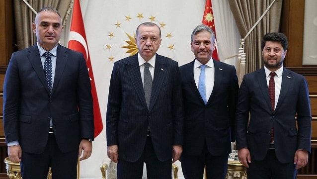 Firuz Bağlıkaya Cumhurbaşkanı Erdoğan ile hangi konuları görüştü?
