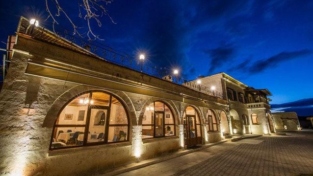 Kapadokya'nın yeni oteli hizmete girdi