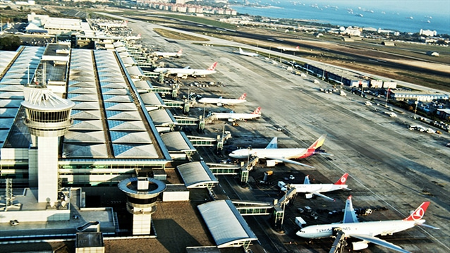 Havalimanlarından 206 milyon Euro kâr elde etti