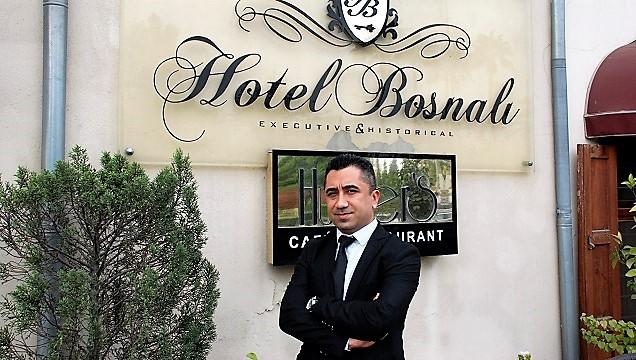 Hotel Bosnalı'ya yeni genel müdür