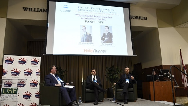 HotelRunner GLOBE 2018 Uluslararası Konferansı'nda Türkiye'yi temsil etti