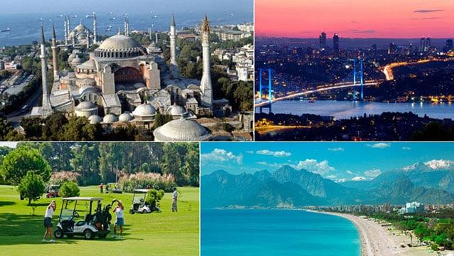İstanbul ve Antalya dolup taşacak