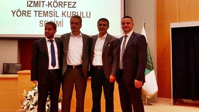 İzmit-Körfez YTK başkanlığını Aytekin Şahinbaş kazandı