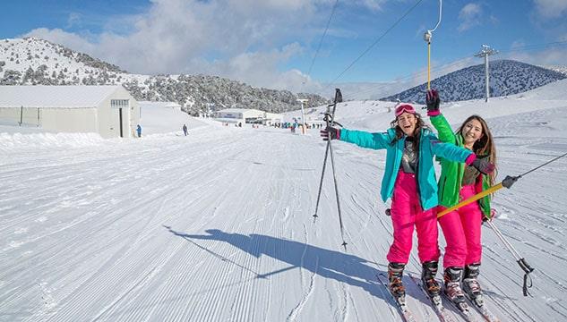 Kayak merkezlerinde ücretler belli oldu