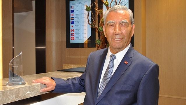 Marriott'tan İbrahim Polat'a ömür boyu başarı ödülü