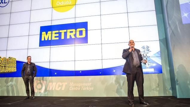 Metro Toptancı Market'e Gamechangers Türkiye'den 2 ödül