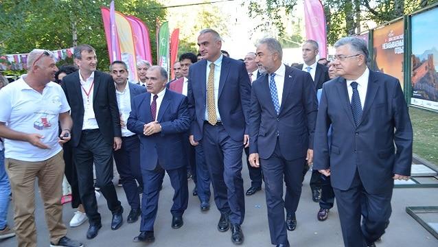Moskova'daki Türkiye Festivali başladı