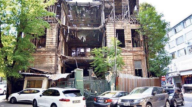 Münif Paşa Konağı otel olmadı otopark oldu!