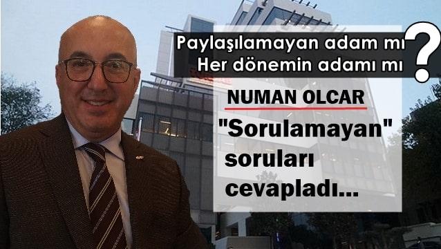 Numan Olcar: Mesleğim için mücadele ediyorum, işin siyasetinde yokum...