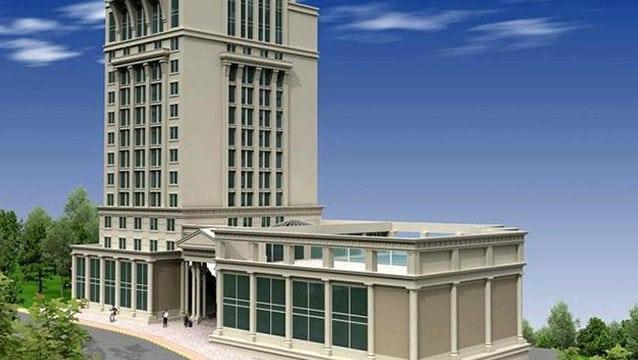 Otel inşaatını lüks konut projesine çevirdi