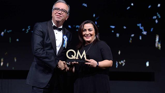 QM Awards'tan iki ödülle döndü!