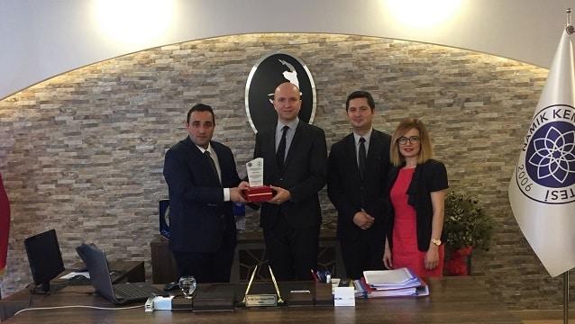 Ramada Tekirdağ Otel'den turizm eğitimine destek