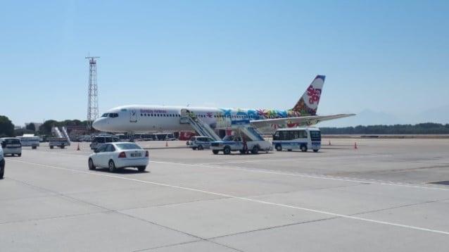 Sunday Airlines Antalya'ya ilk seferini yaptı
