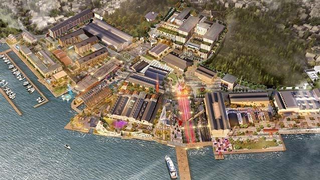 Temeli atıldı, Tersane İstanbul'da 5 yıldızlı 3 otel inşa edilecek