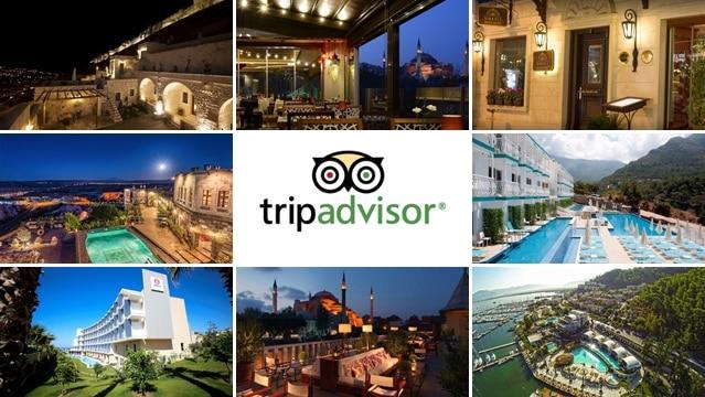 Tripadvisor Türkiye'nin en iyi 15 otelini açıkladı