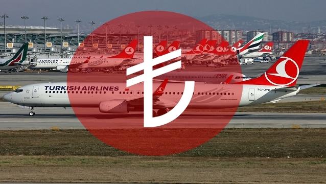 Türk Hava Yolları'ndan TL'ye destek geldi