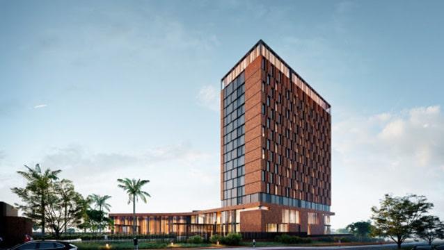 Türk şirketin tasarladığı otel inşaatında sona doğru