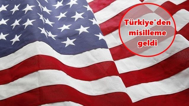 Türkiye'den ABD'ye yanıt gecikmedi...