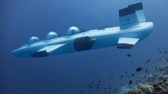 Turlar denizaltına indi!