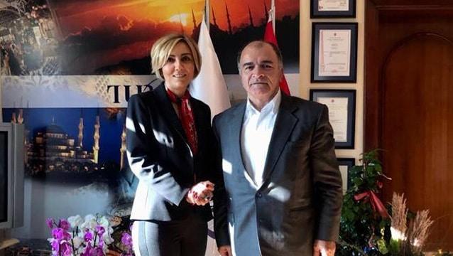 Osman Ayık'tan TÜROB'a ziyaret