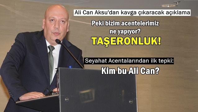 TUROYD Başkanı Aksu'dan çarpıcı iddia: Acentaların otellere katkısı %3'ün altında