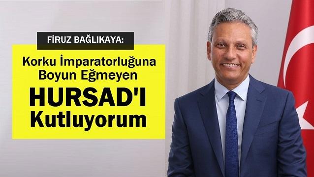 TÜRSAB Başkan Adayı Firuz Bağlıkaya HURSAD'a teşekkür etti