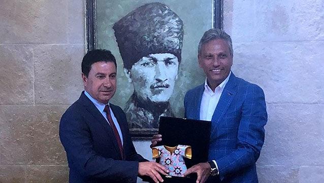 TÜRSAB ve BOYTAV'ın tanıtımda stratejik ortaklığını görüştüler