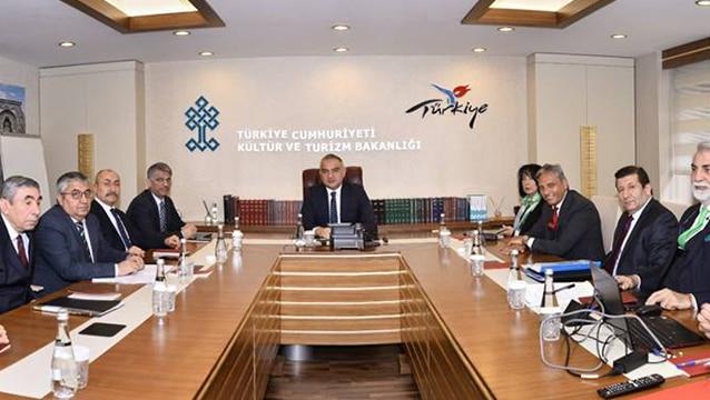 TÜRSAB'ın yeni yasası için Bakanlık'ta toplantı