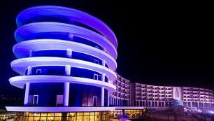 180 milyon dolarlık termal otelde sona doğru