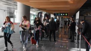 40 bin turist Türkiyeden ayrıldı