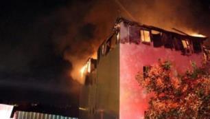 5 yıldızlı otel lojmanlarında korkutan yangın