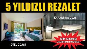 5 yıldızlı otelde 'insan hakkı' ihlali… Görüntüler pes dedirtti!