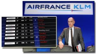 Air France-KLM, grevler nedeniyle büyük bir krizin eşiğinde