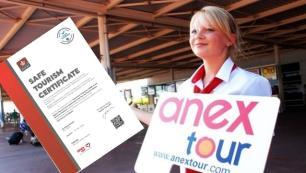 Anex Tour Sağlıklı Turizm Belgesi alan ilk Türk tur operatörü oldu