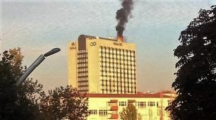 Ankara'da lüks otelde yangın paniği