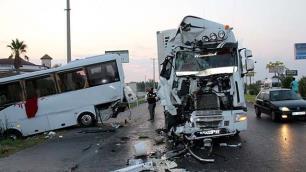 Otel servisi ve otobüs kazalarında ürküten bilanço!